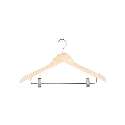 Richards Homewares Wood Clips Suit Hanger (Set of 5)