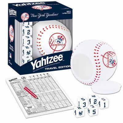 Usaopoly MLB Baseball Yahtzee Games MLB Team: New York Yankees