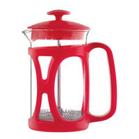 Grosche International Basel French Press Coffee Maker Size: 27.05 oz, Color: Red
