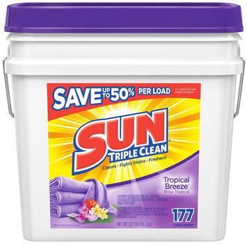 Sun® Triple Clean Tropical Breeze® Laundry Detergent & All Purpose Cleaner 22.7 lb. Pail