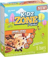 Kidz ZonePerfect® Nutrition Bars Caramel Crunch 5 ct Box