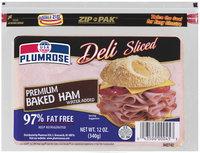 Plumrose Premium Sliced 97% Fat Free Baked Ham