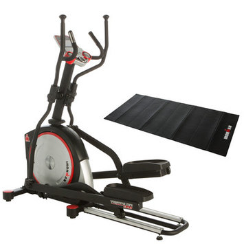 Paradigm Health And Wellness Inc IRONMAN X-Class 610 Smart Technology Elliptical Trainer with Bonus Accessories