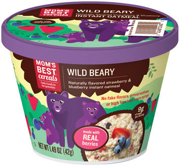 MOM's Best® Cereals Wild Beary Instant Oatmeal 1.49 oz. Cup