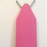 Simply Whimsical Pink Lights Ironing Board Cover