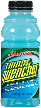 Schnucks Thirst Quencher Glacial Chill Sports Drink 20 Oz Plastic Bottle