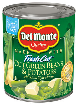 Del Monte® Cut Green Beans & Potatoes with Ham Style Flavor
