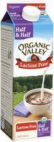 Organic Valley Lactose Free Organic Half & Half 1 qt. Carton