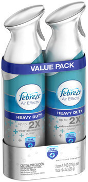 Air Effects Febreze Air Effects Heavy Duty Crisp Clean Air Freshener (2 Count, 19.4 Ounce)