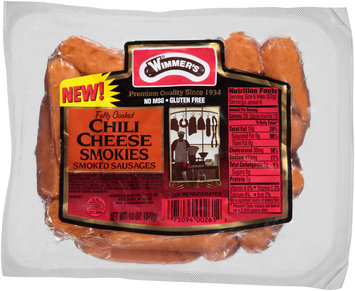 Wimmer's® Chili Cheese Smoked Sausages 13 oz. Package