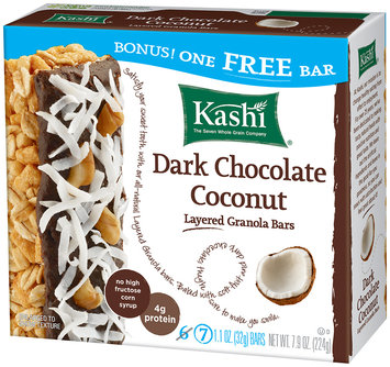 Kashi® Dark Chocolate Coconut Layered Granola Bars 7 ct Box
