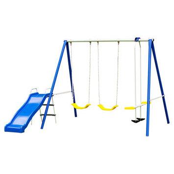 Flexible Flyer Backyard Fun Swing Set