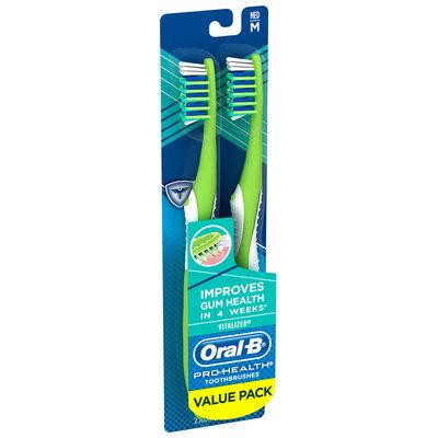 Oral-B Pro-Health Vitalizer 40 Medium Toothbrush 2 ct Blister
