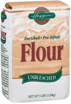 Haggen Unbleached Enriched Pre-Sifted Flour 5 Lb Bag
