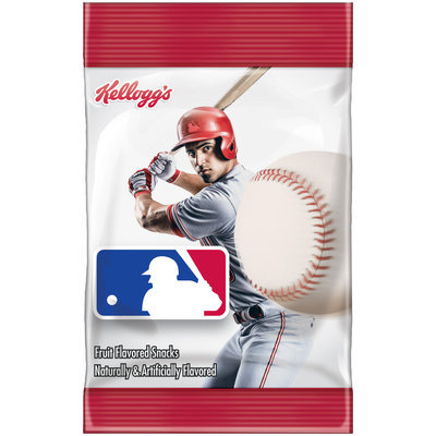 Kellogg's® MLB® Fruit Flavored Snacks 2.5 oz. Bag