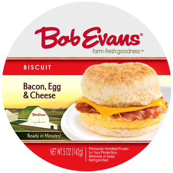 Bob Evans® Bacon, Egg & Cheese Biscuit Sandwich 5 oz. Wrapper