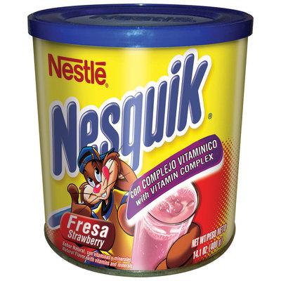 Nestle Nesquik Strawberry Flavor Canister