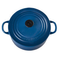 Le Creuset Cast Iron Round French Oven Magnet Color: Marseille
