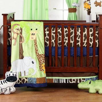 One Grace Place Jazzie Jungle Boy 3-Piece Bedding Set