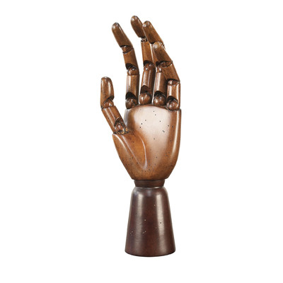 Authentic Models 15H in. Art Hand Statue