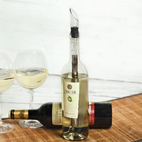 Pbkay Stainless Steel Wine Chiller with EZ Pour Spout - 3 in 1: Wine Chiller, Aerator, Drip Free Pourer