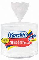 KORDITE PLATES Soak Proof 8.875 In Foam Plates 100 CT BAG