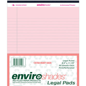 Roaring Spring Paper Products 74150 Enviroshades Legal Pads - 6 Packs Per Case