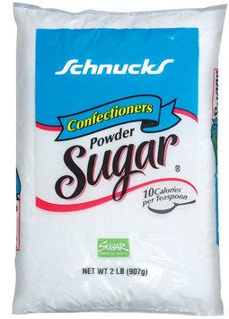 Schnucks Confectioners Powder Sugar 2 Lb Bag