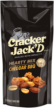 Cracker Jack®'D Hearty Mix Cheddar BBQ Snack Mix 3 oz. Bag