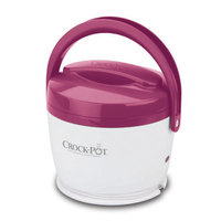 Crock-Pot 20-Ounce Lunch Crock Food Warmer, Pink