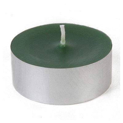 Zest Candle Mega Oversized Tin Tealight Color: Hunter Green, Quantity: Set of 144