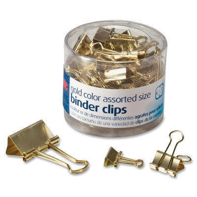 Officemate Assorted Size Binder Clips Pack of 30