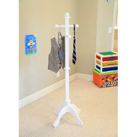 Mega Home Kid's Deluxe Coat Rack Finish: Pink