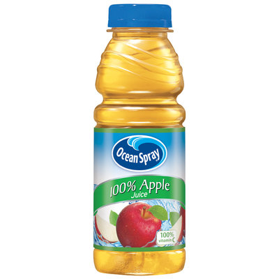 Ocean Spray® 100% Apple Juice 15.2 fl. oz. Plastic Bottle