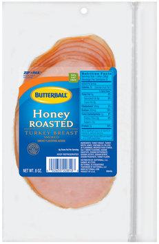 Butterball Honey Roasted Turkey Breast 8 Oz Zip Pak