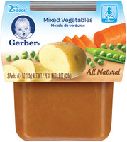 Gerber® 2nd Foods Mixed Vegetables
