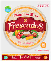 Frescados™ Burrito Style Large Flour Tortillas 15.5 oz. Bag