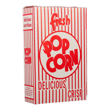 Snappy Popcorn Close-Top Popcorn Box Size: 3E