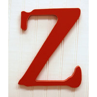 New Arrivals New Capital Letter - Z - Color: Rusty Red