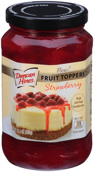 Duncan Hines® Strawberry Fruit Toppers™ 14.4 oz. Jar