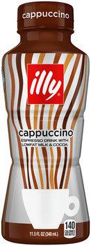 illy Cappuccino Espresso Drink with Milk 11.5 fl. oz. Bottle