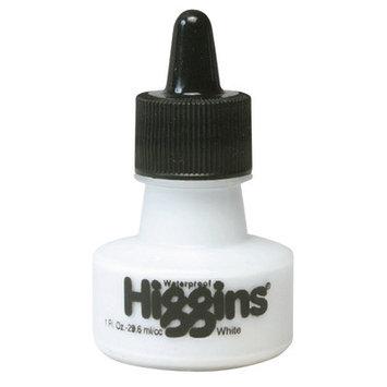 Higgins Color Drawing Inks 1 oz. bottles white waterproof