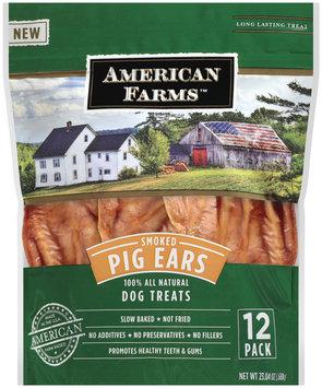 American Farms Smoked Pig Ears 12 ct