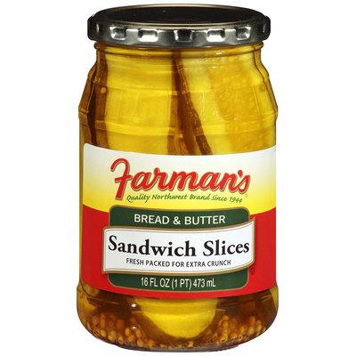 Farman's®Bread & Butter Sandwich Slices