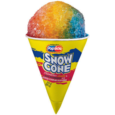 Popsicle Snow Cone Single Serve Novelty