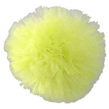 Heart To Heart Tulle Pom Pom 3D Wall Decor Color: Green