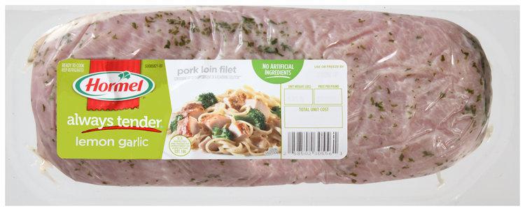 Hormel® Always Tender® Lemon Garlic Pork Loin Filet