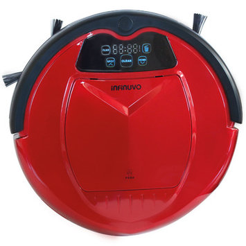 Infinuvo Hovo 650 Red Robotic Vaccuum Set