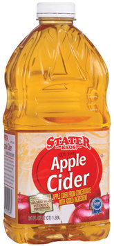Stater Bros. Apple Cider Juice 2 Qt Plastic Bottle