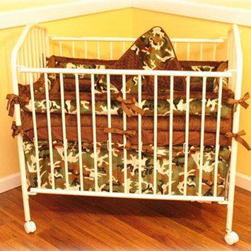 Ozark Mountain Kids Camo Porta 4 Piece Crib Bedding Set